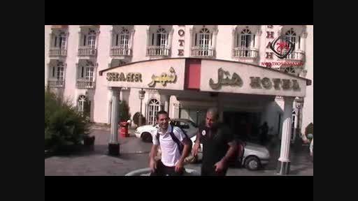 کلیپ حاشیه قبل از دیدار شهروند ساری با میثاق تهران