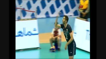 امتیاز اول ایران برابر آمریکا(میرزاجانپور)