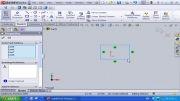 17-روشهای جابجا کردن ترسیمات دو بعدی در solidworks