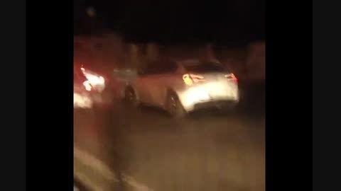 ترافیک شب در تهران