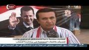 جشن و شادی مردم سوریه از پیروزی های ارتش و دولت سوریه