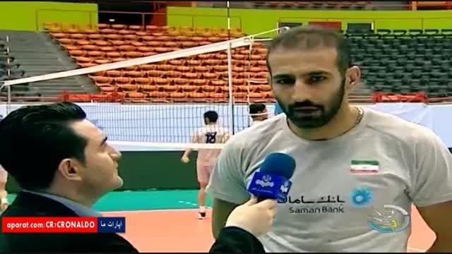 آمادگی تیم والیبال ب ایران برای حضور در جام ملتهای آسیا