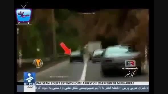 بازداشت راننده مست توسط پلیس نامحسوس
