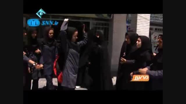 گزارش جنجالی برنامه مصیر در مورد حجاب