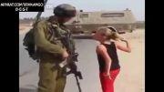 شیر دختر فلسطینی...