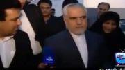 معاون اول احمدی نژاد این خبرنگار من را دست می اندازد!