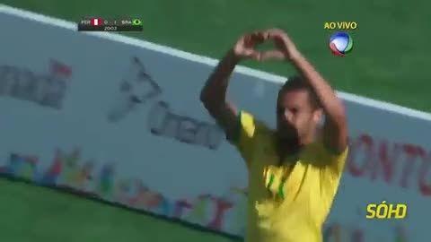 خلاصه بازی : برزیل 4 - 0 پرو (زیر 22 سال قاره آمریکا)