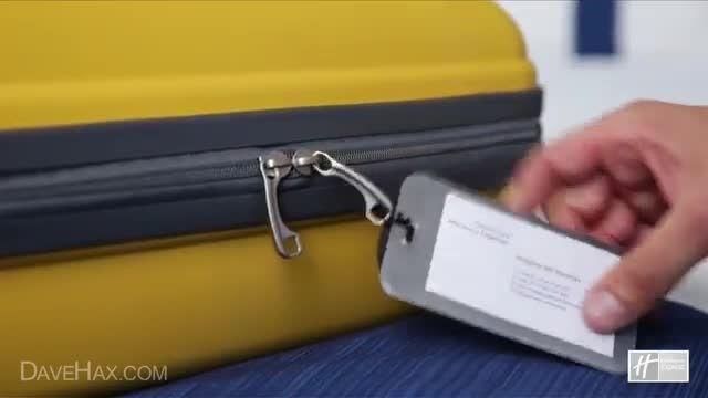 چطور یک چمدان کارآمد ببندیم!