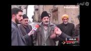 سوتی دادن پیرمرد در مصاحبه درباره کاشت تریاک