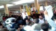 دوشنبه/ ورود بدون اطلاع دکتر جلیلی به فرودگاه مشهد و استقبال سنگین مردم!!