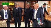 دیدار تاج با ریاست فدراسیون فوتبال ایتالیا