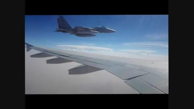 تهدید هواپیمای امدادرسـان ایرانی توسط جنگنده سعودی