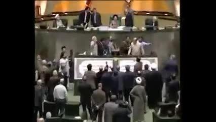 درگیری لفظی نمایندگان مجلس با علی مطهری