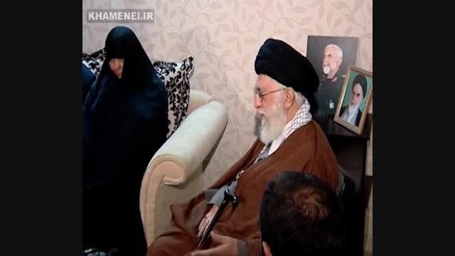 حضور در منزل سردار شهید همدانی
