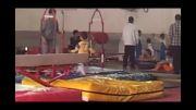 مسابقات ژیمناستیک کودکان در دزفول (پارسا)