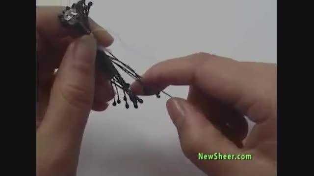 آموزش گل جورابی