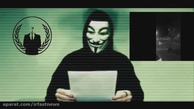 تهدید گروه هکر انانیموس به حمله سایبری به داعش