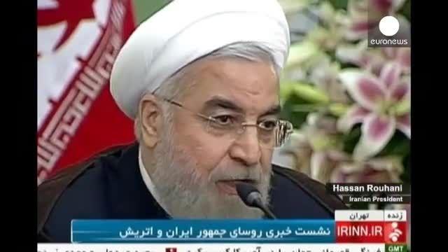 روحانی: ایران آماده مذاکره با هر کشوری برای سوریه است
