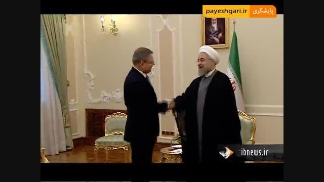 رئیس جمهور اتریش وارد تهران شد