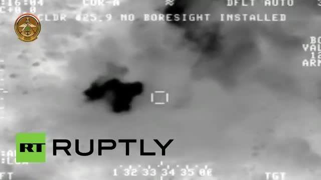 حملات ویرانگر نیروی هوایی ارتش عراق به داعش