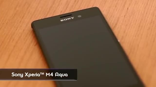گوشی هوشمند Xperia M4 Aqua سونی