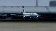 تیک آف ایرباس ایران ایر از فرودگاه دبی