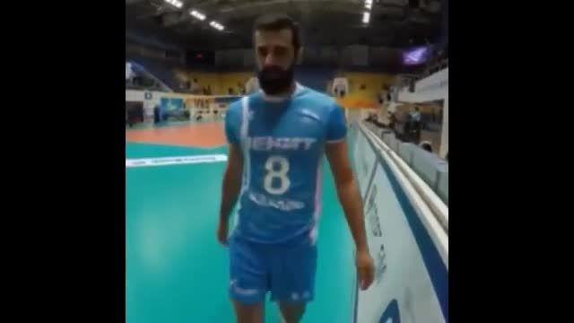 صحبت کاپیتان با هواداران ایرانیشون