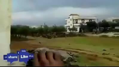 انفجار مقر فرماندهی داعش در سوریه توسط حزب الله