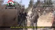 جدید : تصاویر جدید از درگیریهای ارتش سوریه با تروریستها سوری در القصیر و انفجار خمپاره در میان آنها