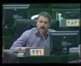 نطق دکتر فلاحت پیشه(نامه رئیس جمهور خلاف قانون اساسی است و باید عودت داده شود)
