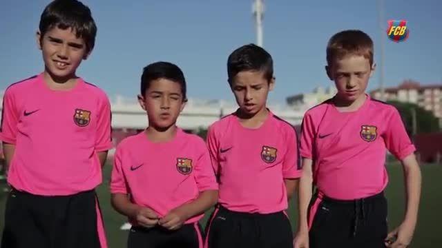 حمایت همه جانبه هواداران بارسلونا از ژاوی