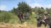 رفتار وحشیانه با زنان و مردان فلسطینی!!!!
