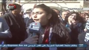 تظاهرات مردم استان حسکه در حمایت از دولت و ارتش سوریه