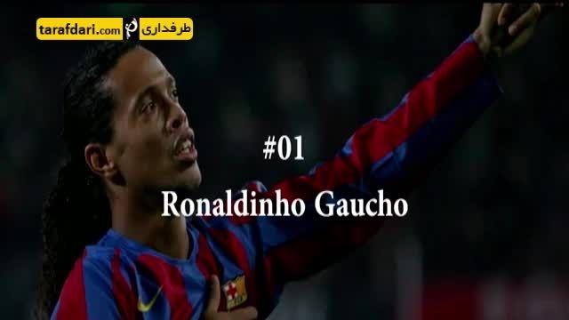 تکنیکی ترین بازیکنان دنیای فوتبال