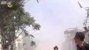 نبرد بسیار نزدیک تروریست ها با ارتش سوریه