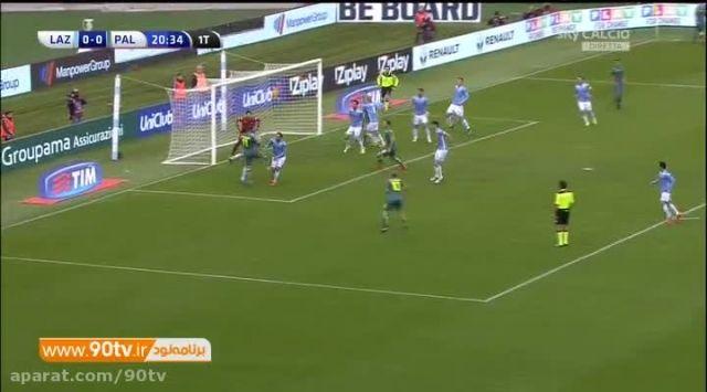 خلاصه بازی: لاتزیو ۱-۱ پالرمو