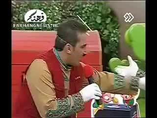 تبلیغ عجیب در برنامه کودک تلویزیون ایران