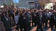 مراسم تشییع شهید گمنام در شهر سیس
