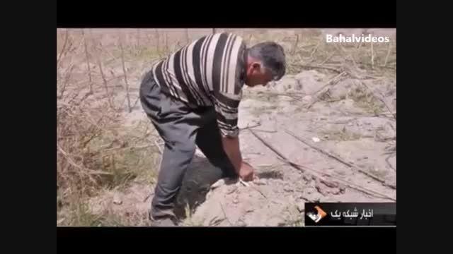 خشکی بیش از 94% دریاچه ارومیه و معضلات آن