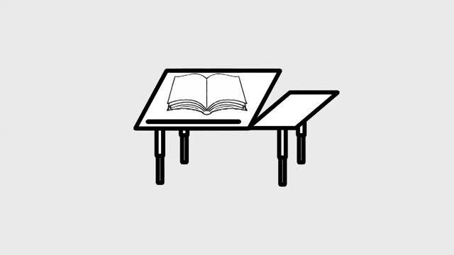 میز تحریر دانش آموزی-میز تحریر-میز دانشجوئی-میز لپ تاپ