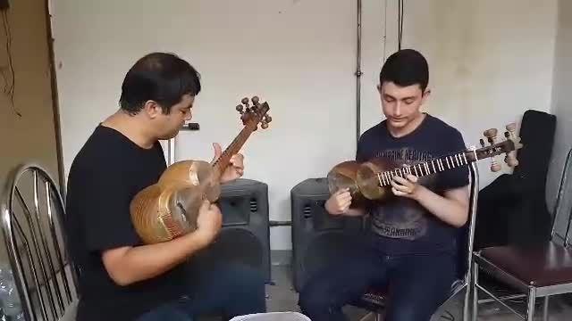 تار آذری باقر خوش فهم با محمد رضا اصلان پور(مشغله)