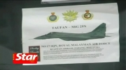 اولین خلبان جنگنده زن در مالزی!!!