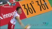 بازی های آسیایی(والیبال) - ایران 3 - 0 چین