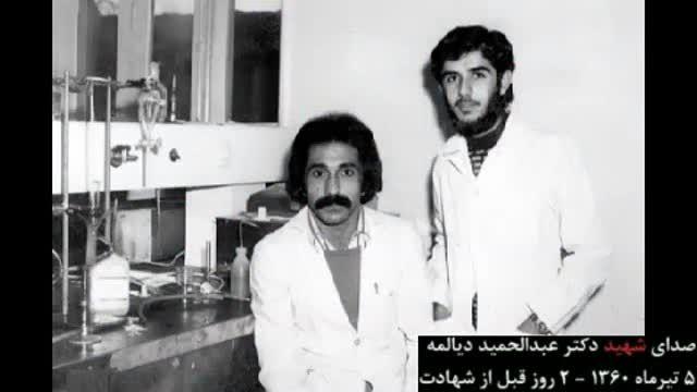 فایل صوتی شهید دیالمه درباره میرحسین موسوی