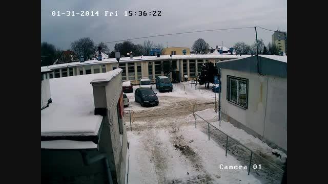نمونه تصویر دوربین تحت شبکه هایک ویژن  DS-2CD2032-I