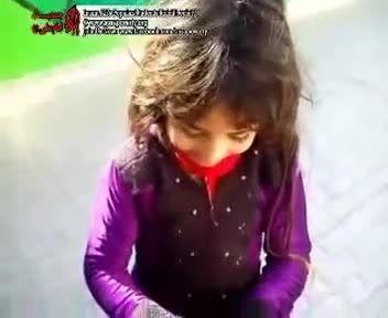 فروش مواد مخدر توسط دختر ۶ ساله در یکی از شهرهای ایران