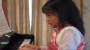 پیانو  برای همه - کودک 9 ساله