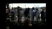 ابراز احساسات بازیگر هالیوودی در محل سانحه رانندگی
