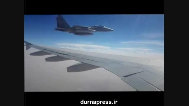 رویارویی هواپیمای ایران و جنگنده های سعودی در یمن