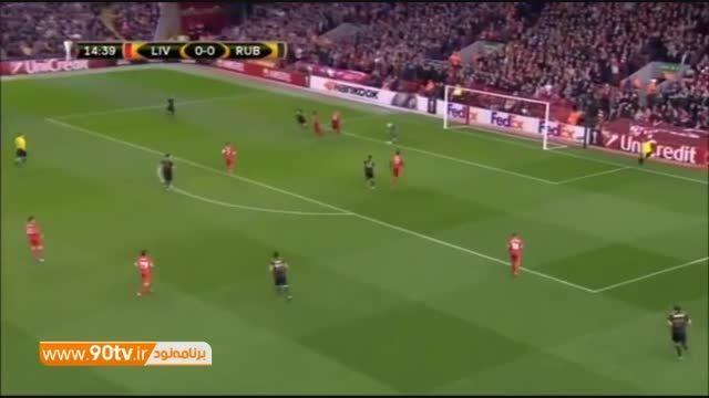 خلاصه بازی: لیورپول ۱-۱ روبین کازان